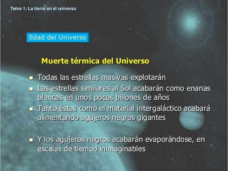 Resultado de imagen de La muerte térmica del Universo