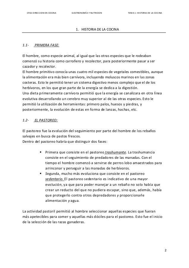 Historia de la cocina hasta nuestros d as for Cocina molecular historia