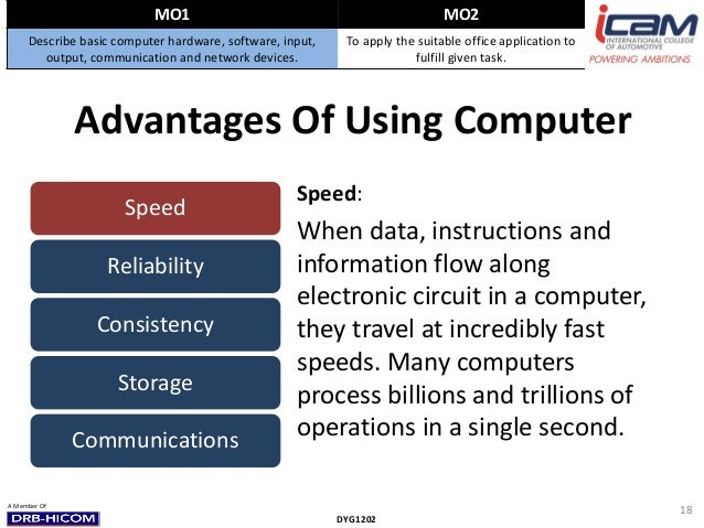 advantages of computer Computers are becoming an increasingly common tool in the classroom this lesson will explain some of the benefits as well as the disadvantages of.