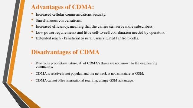 TDMA & CDMA Technologies