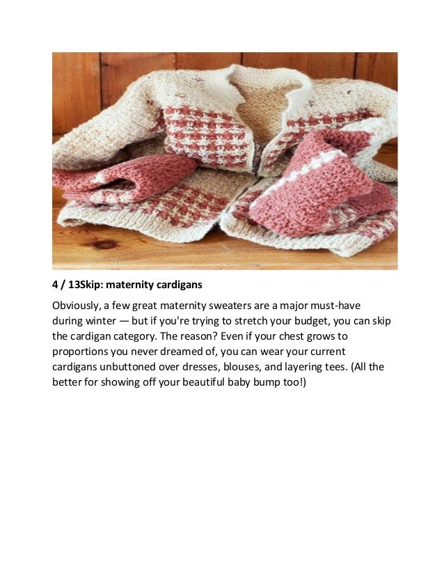 ca19381abdb 8 Wardrobe Staples for Winter Pregnancies