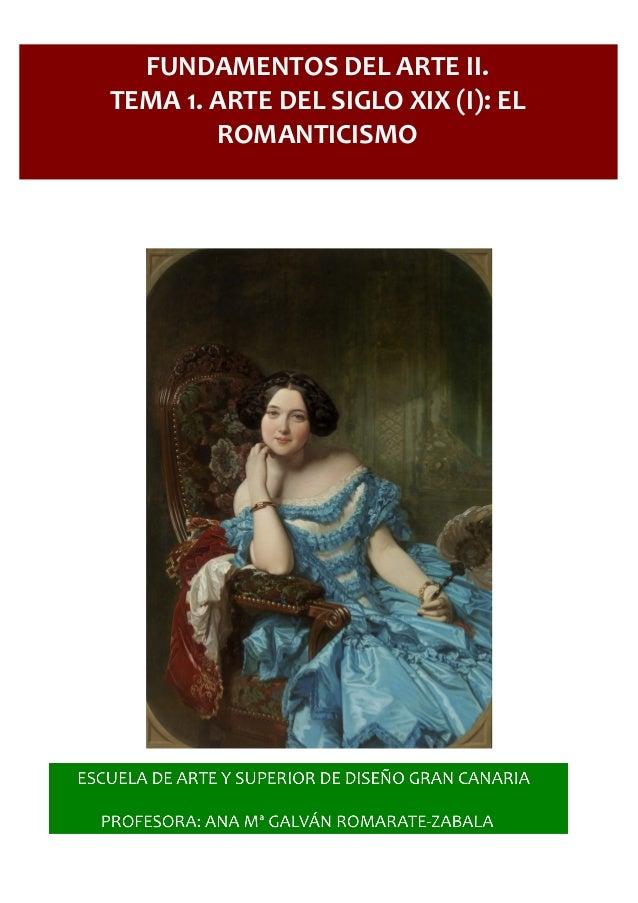 Arte del siglo XIX (I): El Romanticismo