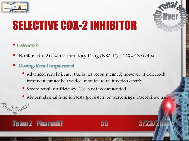 Anti Rhumatics In Renal And Liver Impairment