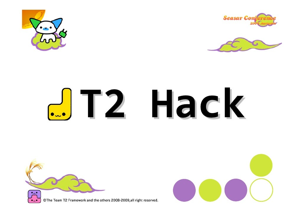 """T2HackwithScala  ScalaPageclass packageexamples.page{   import org.t2framework.t2.navigation._   @Page(""""/scala"""")   ..."""