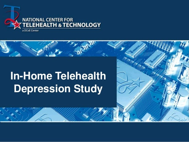 In-Home Telehealth Depression Study