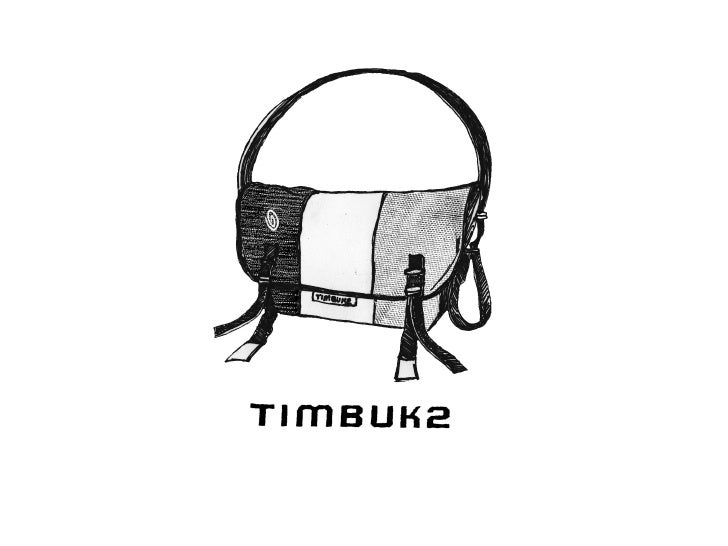 tao of timbuk2 The tao of timbuk2 there are many key competitive priorities that are the driving sales force behind timbuk2 custom messenger bags, but they all fall under one simple word: quality.
