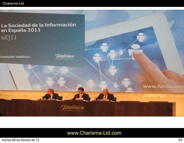 #Charisma-Ltd www.Charisma-Ltd.com 20martes 28 de febrero de 12