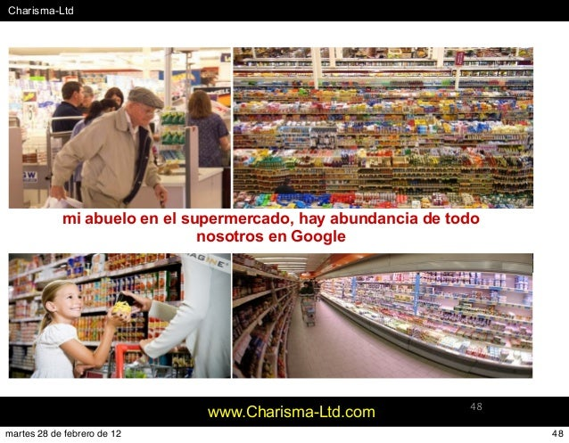 #Charisma-Ltd www.Charisma-Ltd.com 48 mi abuelo en el supermercado, hay abundancia de todo nosotros en Google 48martes 28 ...