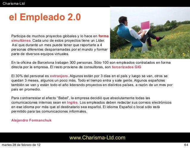 #Charisma-Ltd www.Charisma-Ltd.com Participa de muchos proyectos globales y lo hace en forma simultánea. Cada uno de estos...