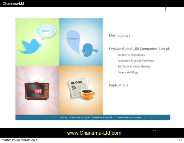 #Charisma-Ltd www.Charisma-Ltd.com 77 77martes 28 de febrero de 12