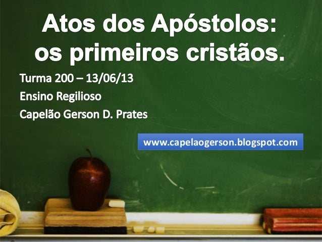 www.capelaogerson.blogspot.com
