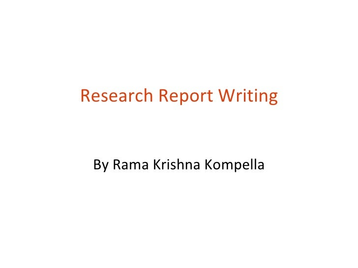Buy research report writing