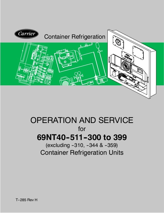operation and service manual container refrigeration unit 69nt40 511 rh slideshare net