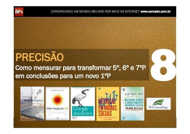CONSTRUINDO UM MUNDO MELHOR POR MEIO DA INTERNET: www.conrado.com.brPRECISÃOComo mensurar para transformar 5º, 6º e 7ºPem ...