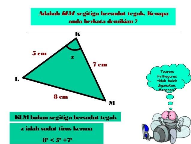 T2 Bab 6 Teorem Pythagoras