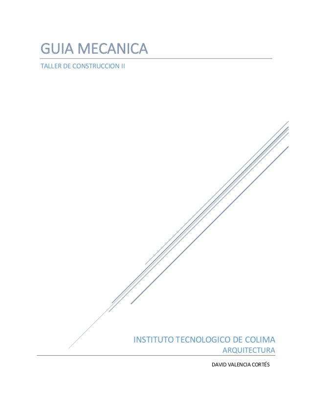 GUÍA MECANICA