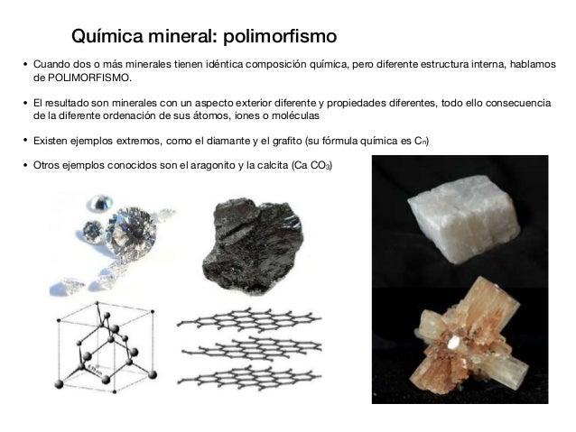 Química de los minerales