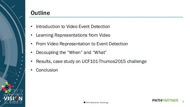 Using Deep Learning for Video Event Detection on a Compute