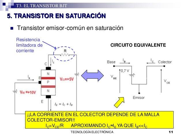 Circuito Transistor : T transistor bjt