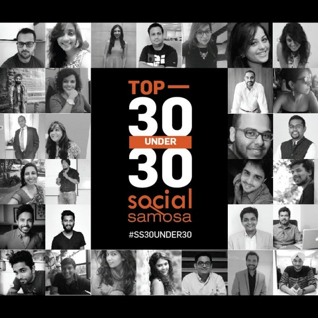 Presenting #SS30Under30 winners