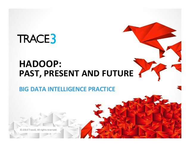 ©  2014  Trace3,  All  rights  reserved.   BIG  DATA  INTELLIGENCE  PRACTICE   HADOOP:   PAST,  PR...