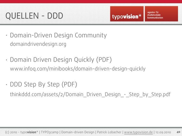 Domain Driven Design Quickly Pdf