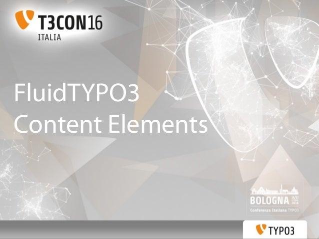 FluidTYPO3 Content Elements