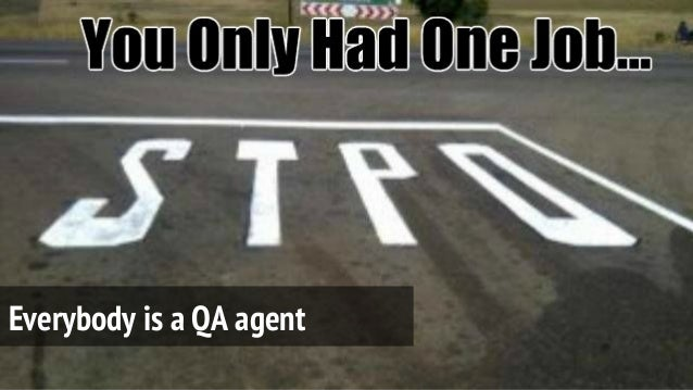 Everybody is a QA agent