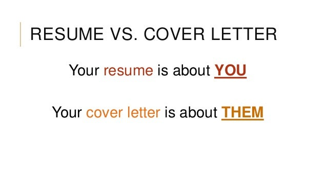 cover letter 10 resume vs