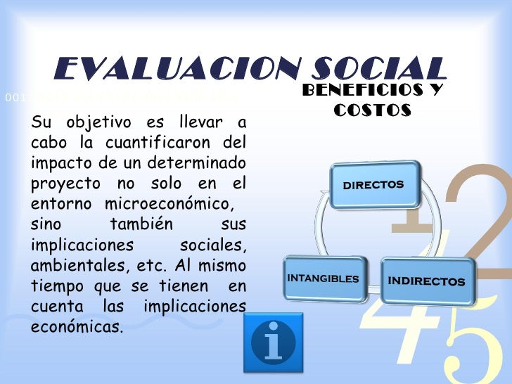 EVALUACION SOCIAL0011 0010 1010 1101 0001 0100 1011                                     BENEFICIOS Y                      ...