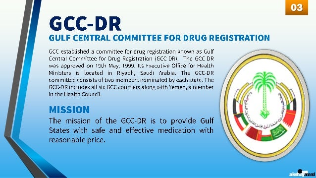 Drug Registration in GCC (Gulf Cooperation Council) - by