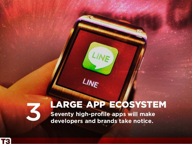 Seventy high-profile apps will make developers and brands take notice. large app ecosystem 3