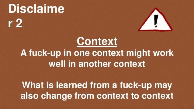Scaling Agile Fuck-Ups - presented at Tools 4 Agile Teams Dec 2017 Slide 3