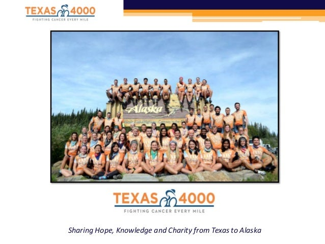 Sharing Hope, Knowledge and Charity from Texas to Alaska