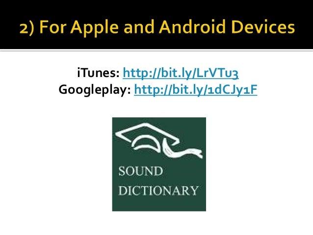 how to make a dictionary app