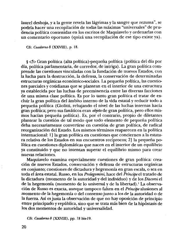 5 <6> La cuestión de la clase política, tal como es presentada en las obras de Gaetano Mosca, se ha convertido en un rompe...