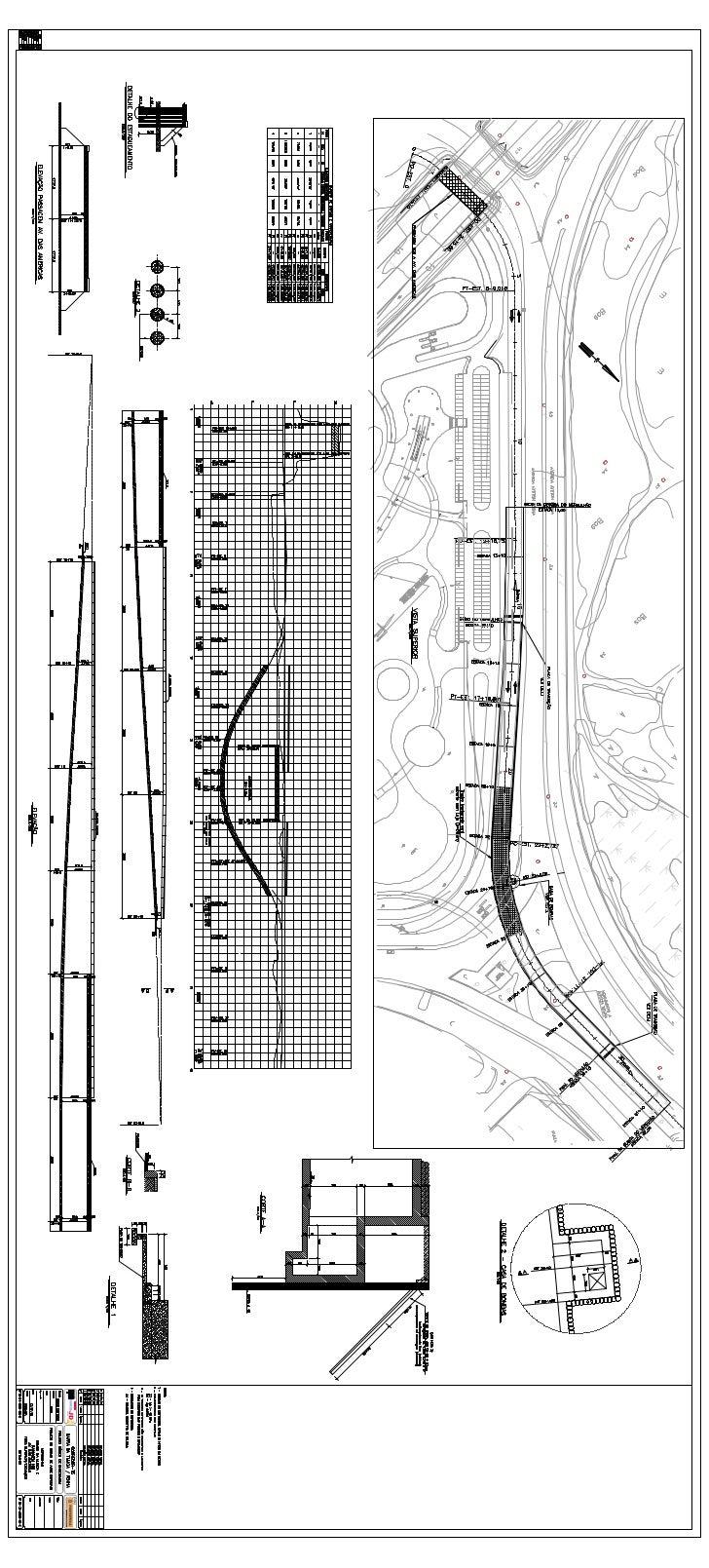 Projeto de Obras-de-Arte Especiais - Vista Superior - Mergulhão CM e Passagem sob Av. das Américas