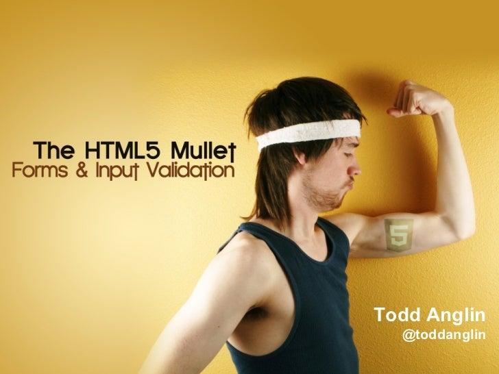 Todd Anglin  @toddanglin