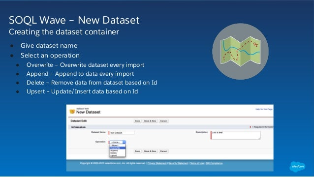 Quickly Create Data Sets for the Analytics Cloud