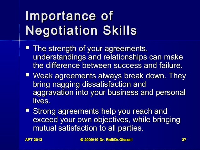 """the importance of negotiation Faopolicy learning programme negotiation theory and practice: a review of the literature 1 """"major public policies are the outcome of a complex round of negotiation."""