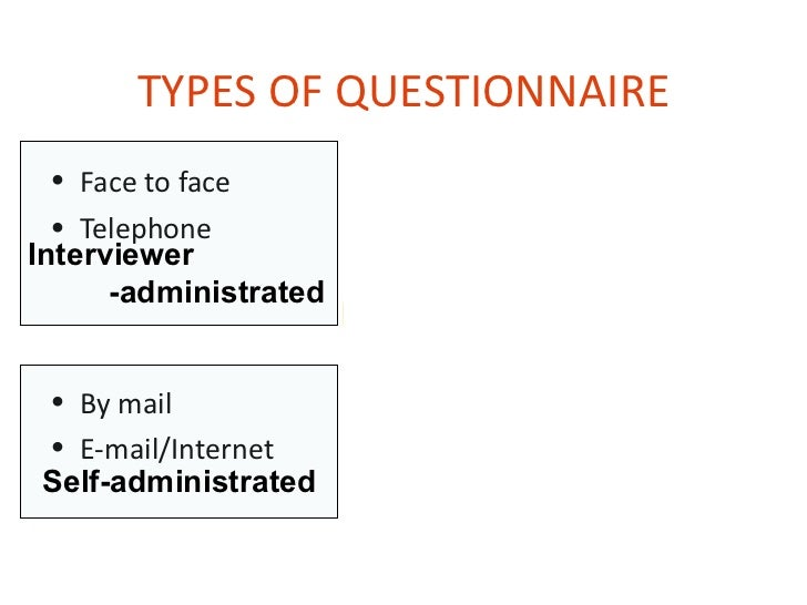 types of questionnaires in research These relationships are at the core of marketing research  20 types of marketing surveys  we have identified twenty different types of applied research.