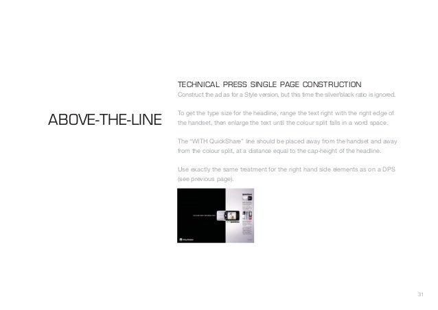 Sony Ericsson T610 Campaign Guidelines