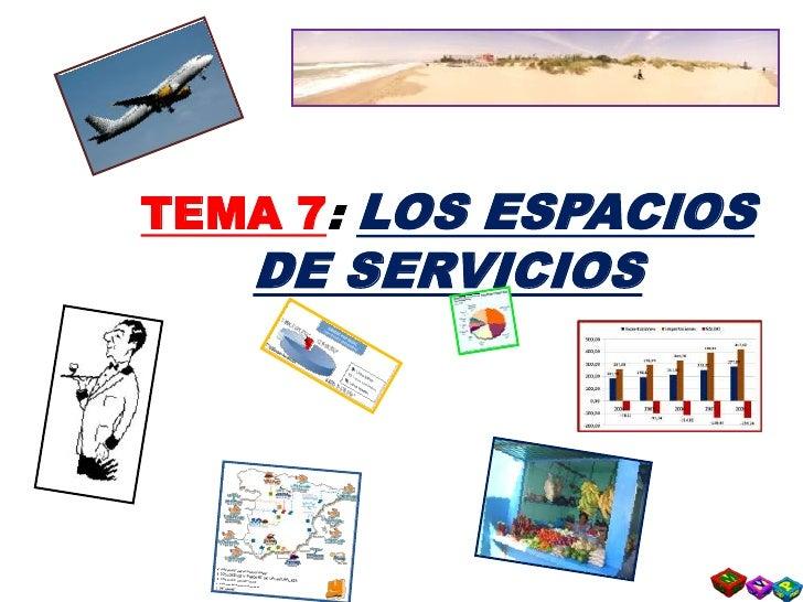 T7   3  Los Espacios Turisticos Slide 2
