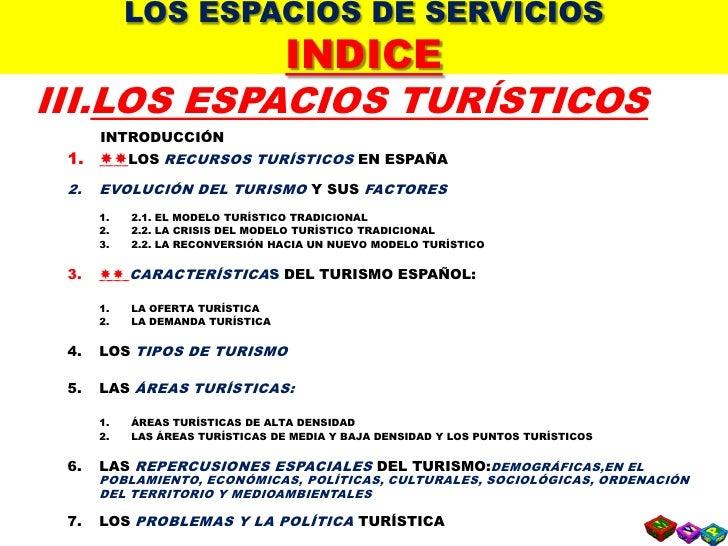 T7   3  Los Espacios Turisticos Slide 3