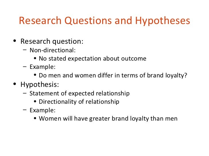 example of hypothesis in research paper
