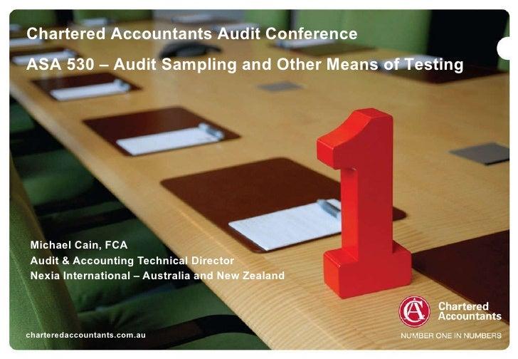 T8 audit sampling