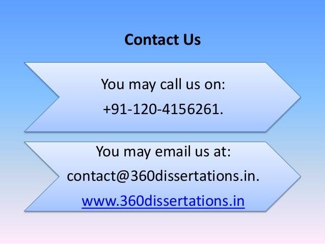 Uk dissertation help india