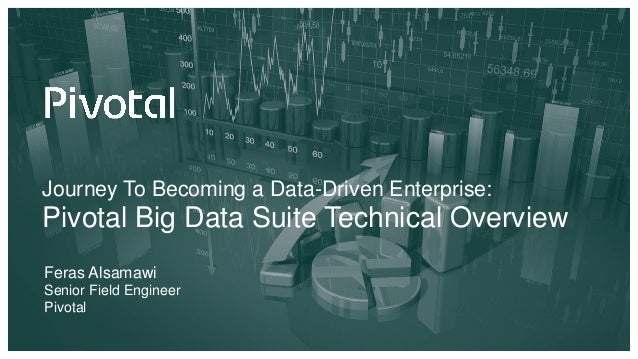 Journey To Becoming a Data-Driven Enterprise: Pivotal Big Data Suite Technical Overview Feras Alsamawi Senior Field Engine...