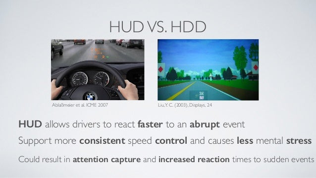 T9+HUD: Physical Keypad and HUD can Improve Driving Performance while…