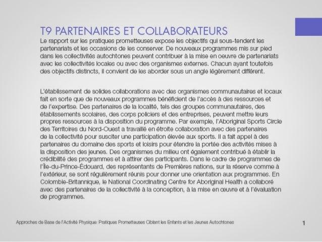 T9 partenaires et collaborateurs